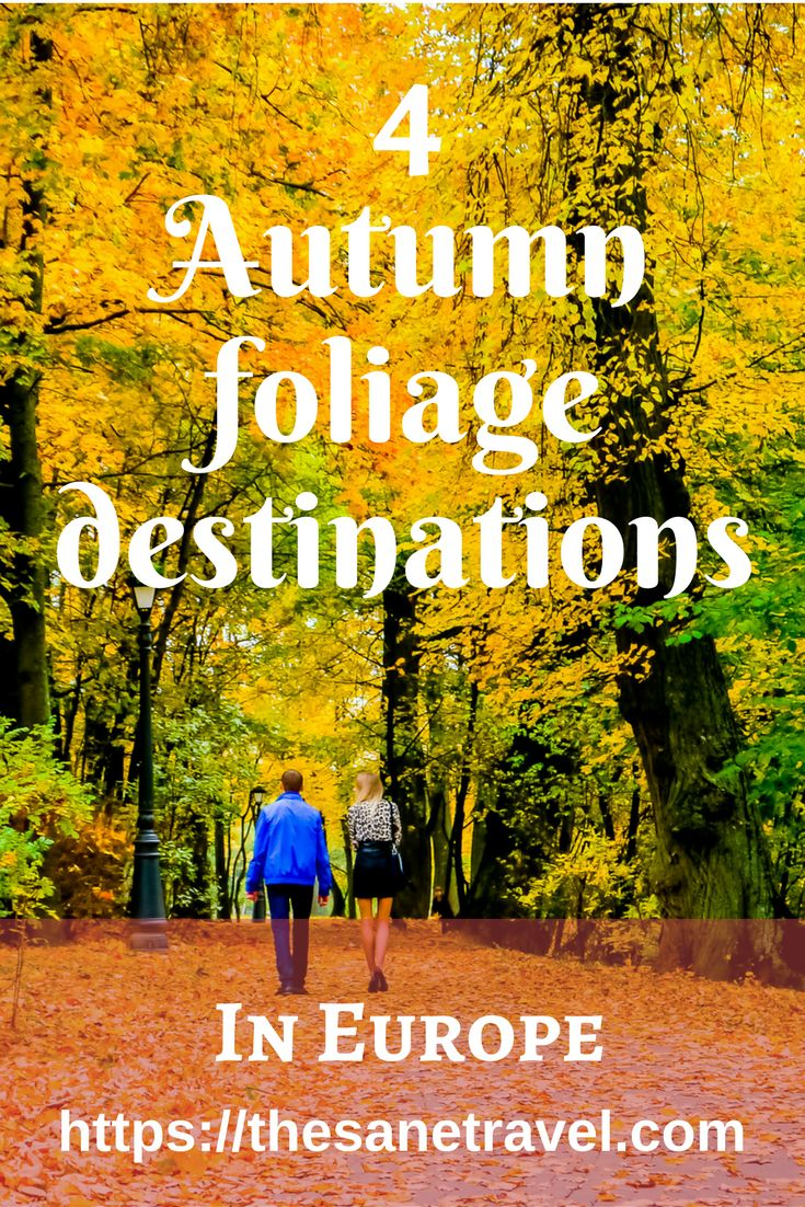 4 autumn foliage destinations in europe travel tips for Vacation destinations in october