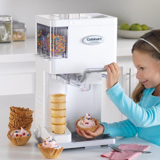 (92) Fancy - Cuisinart Soft Serve Ice Cream Maker