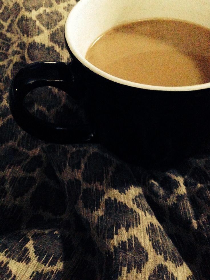 Mmm...orning coffee in bed. (Photo: Eris Vafias)