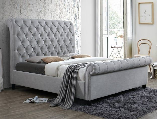 699 Queen Bed Frame Sweet H Me Furniture Located Inside The Charleston Indoor Swapmeet 4530 E Upholstered Beds King Upholstered Bed Queen Bedding Sets