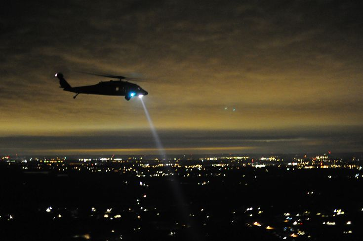 Image result for helicopter searchlight