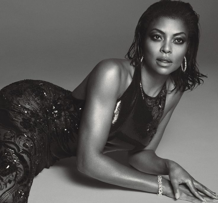 Taraji P. Henson in Roberto Cavalli photographed by Mert Alas and Marcus Piggott for W magazine, July 2015.