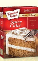 Duncan Hines Spice Cake Mix with coconut oil = Autumn heaven!! Made it ...