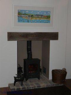 Log burner surround