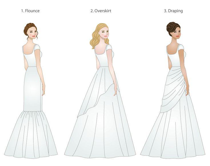 46 besten wedding dress silhouette Bilder auf Pinterest ...