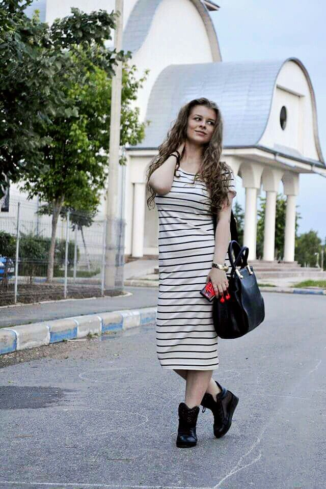 #outfit #streetstyle #runways #me #h&m #dress #midi