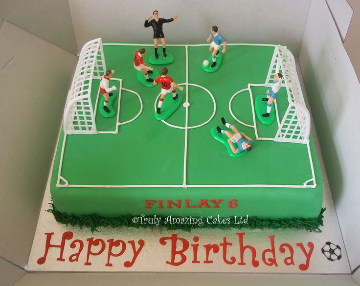 Birthday Cake Ideas Soccer : 17 Best ideas about Football Pitch Cake on Pinterest ...