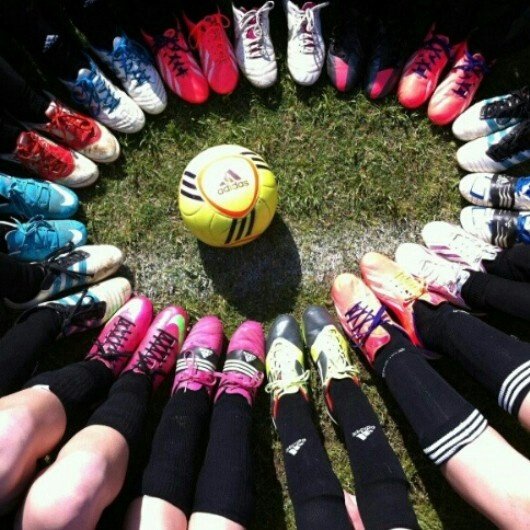 Perfect soccer team picture!