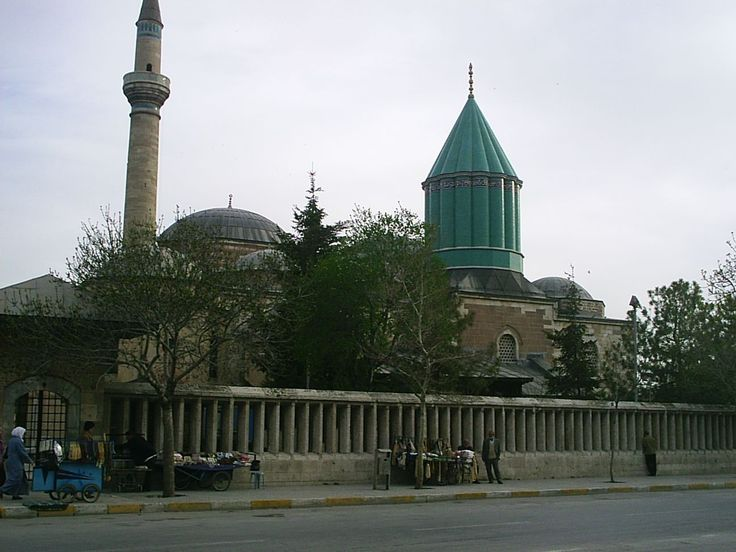The Mevlâna Museum, located in Konya, Turkey, is the mausoleum of Jalal ad-Din Muhammad Rumi, a Persian Sufi mystic also known as Mevlâna or Rumi. It was also the dervish lodge (tekke) of the Mevlevi order, better known as the whirling dervishes. This place so influenced me.