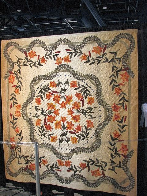 121 best Lily images on Pinterest | Embroidery, Lily and Art ideas : tiger lily quilt shop - Adamdwight.com