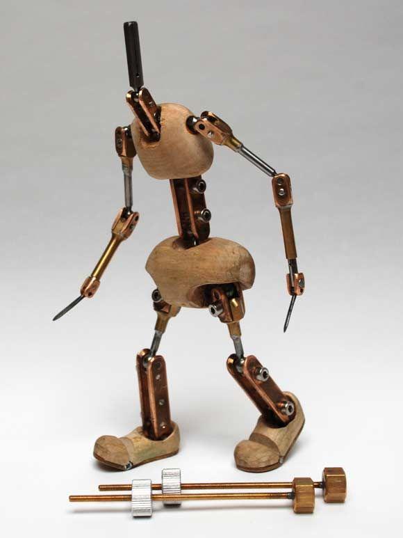 Stop motion armature figure