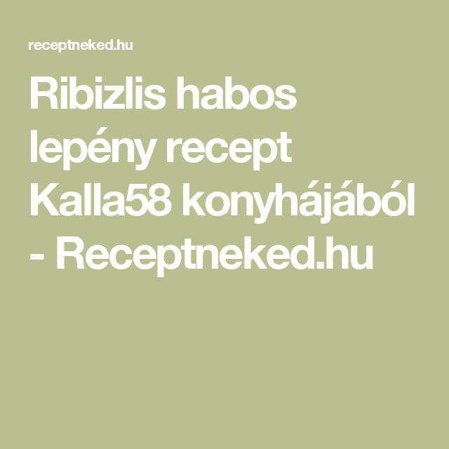 Ribizlis habos lepény recept Kalla58 konyhájából - Receptneked.hu