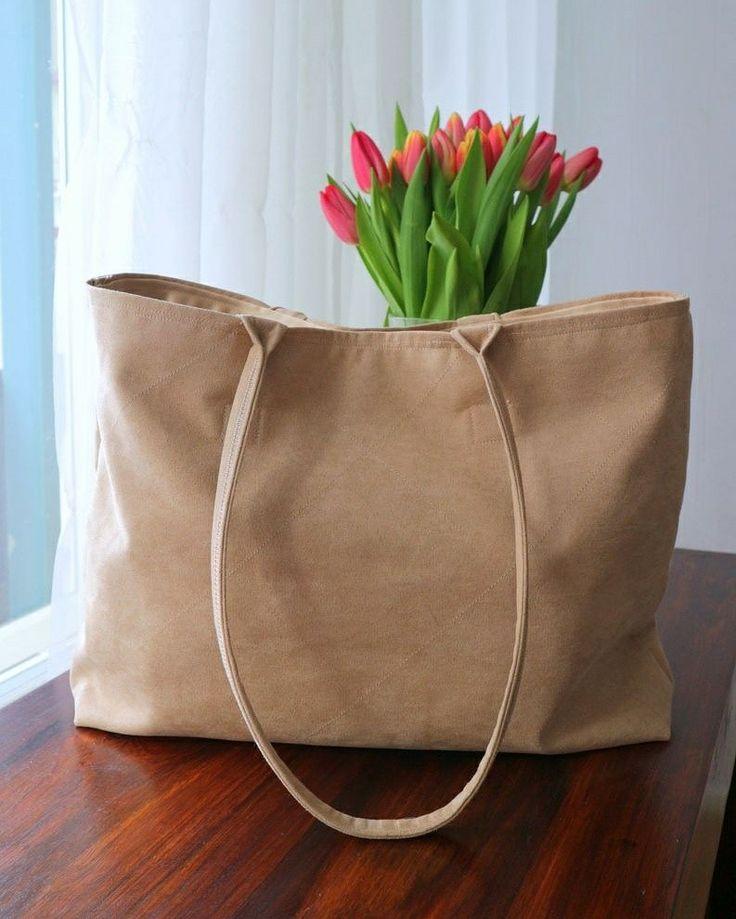 TOTE BAG itse tehty laukku