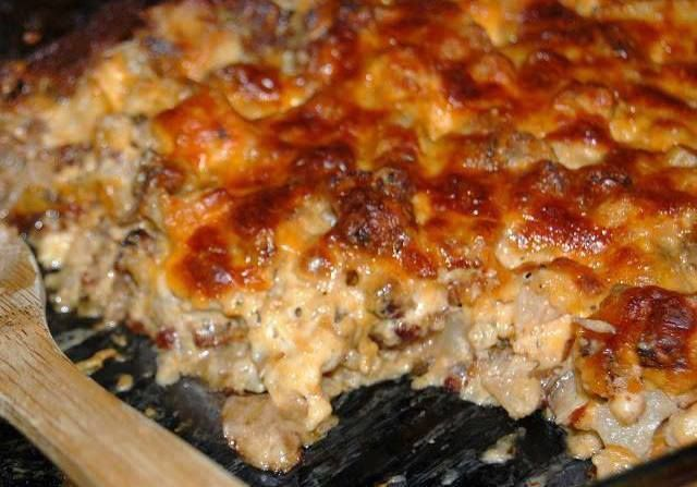 Low Carb Sausage, Mushroom and Chicken Casserole – Favoritesrecipes