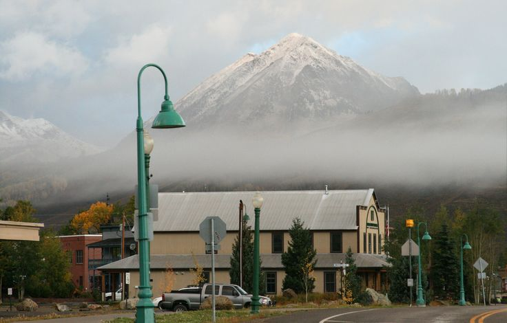 First snow at Crested Butte - September - John Johnson