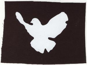Aufnäher-Friedenstaube-Patch