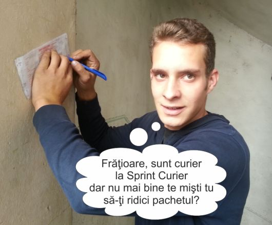 """http://cemerita.ro/sprint-curier-sibiu - Despre un curier puţin mai… """"harnic"""". De la Sprint Curier"""