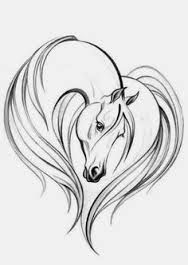 how to draw an awesome horse easy - Google Search
