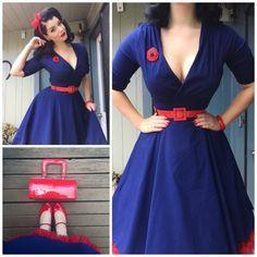 Magnifique robe pin up année 50 idée quelle robe rockabilly beauté robe grande taille diy