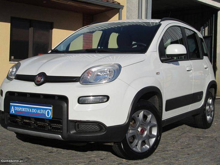 Fiat Panda 1.3 Multijet 4x4 S&S Agosto/13 - à venda - Ligeiros Passageiros, Braga - CustoJusto.pt