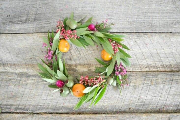 Style Me Pretty Thanksgiving Wreath DIY