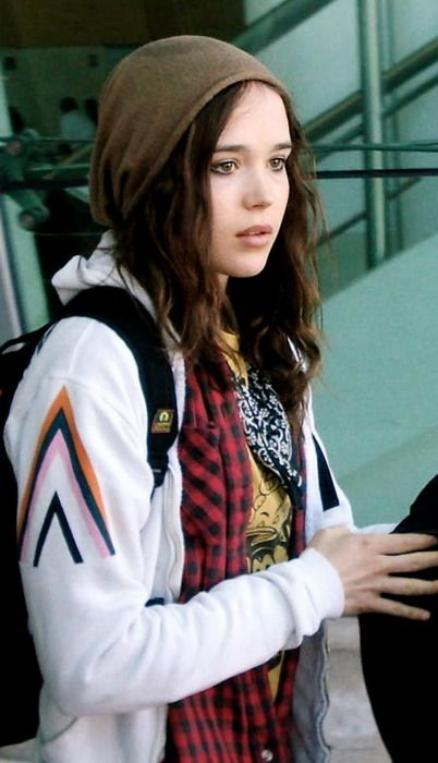 Ellen Page Too cool! Ever since hard candy i have loved her