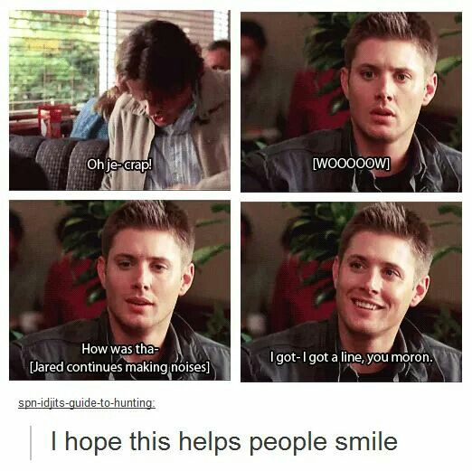 Supernatural Blooper // J2