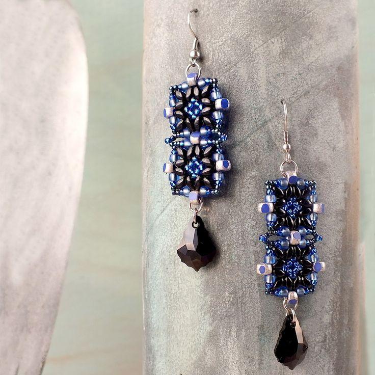 Auntie's Beads Direct - PDF - 253 - Tunisian Tiles Earrings Project , $0.00 (http://direct.auntiesbeads.com/pdf-253-tunisian-tiles-earrings-project/)