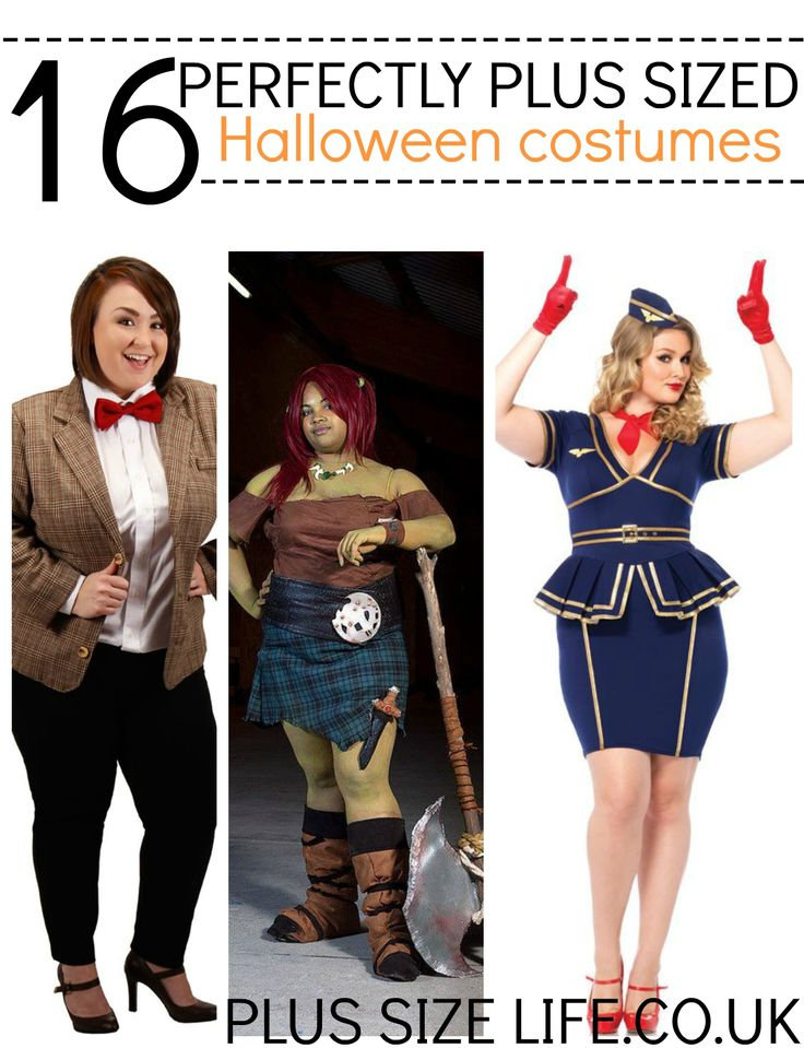 Flaunt your curves with 16 full figure flattering perfectly plus sized Halloween costumes for 2015!