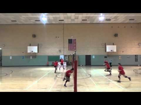 Volleybaltraining van warming-up tot cooling down - YouTube