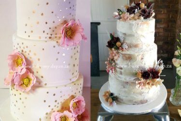 Pink Book Cakes | Bake My Day - Johannesburg Wedding Cakes - Pink Book