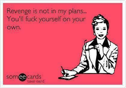 Excuse the French.... but miserable and petty people are just that... don't waste your time on revenge