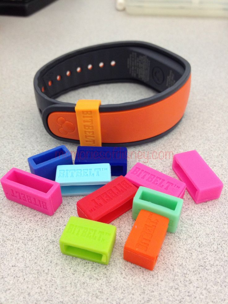 Very cool BitBelts that prevent you from losing your Magic Bands while at the Disney Parks. Fashionable too.