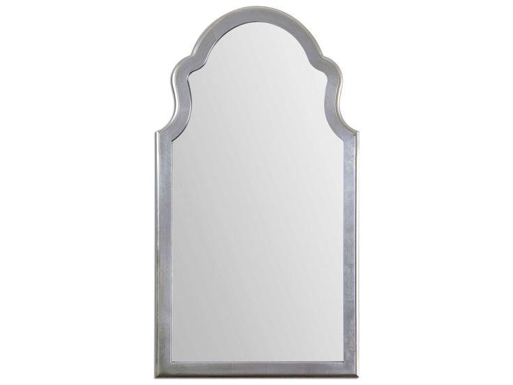 Uttermost Brayden 27 x 48 Arched Silver Wall Mirror $261