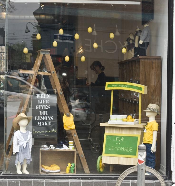 Display Ideas Re: Re: Creative Window Displays