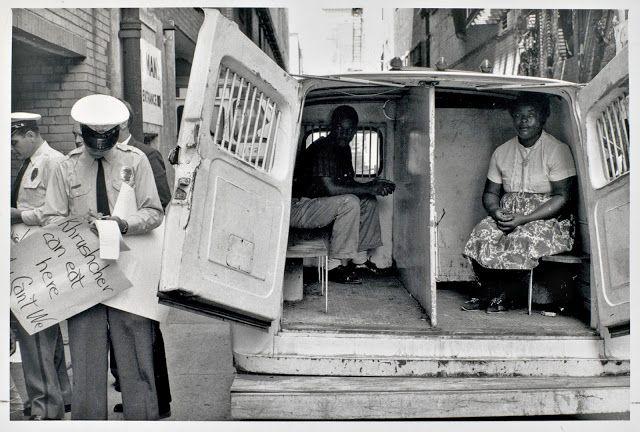 Arresting Demonstrators, Birmingham, Alabama, May 1963 ~ Bruce Davidson