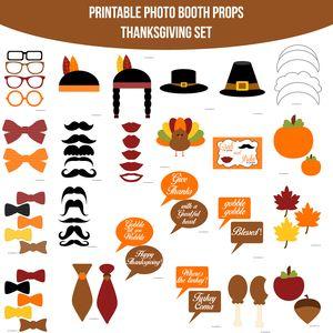 $5.00 Buy Now! Thanksgiving Photobooth Set at www.amandakeyt.com Enjoy Life! Buy the app!