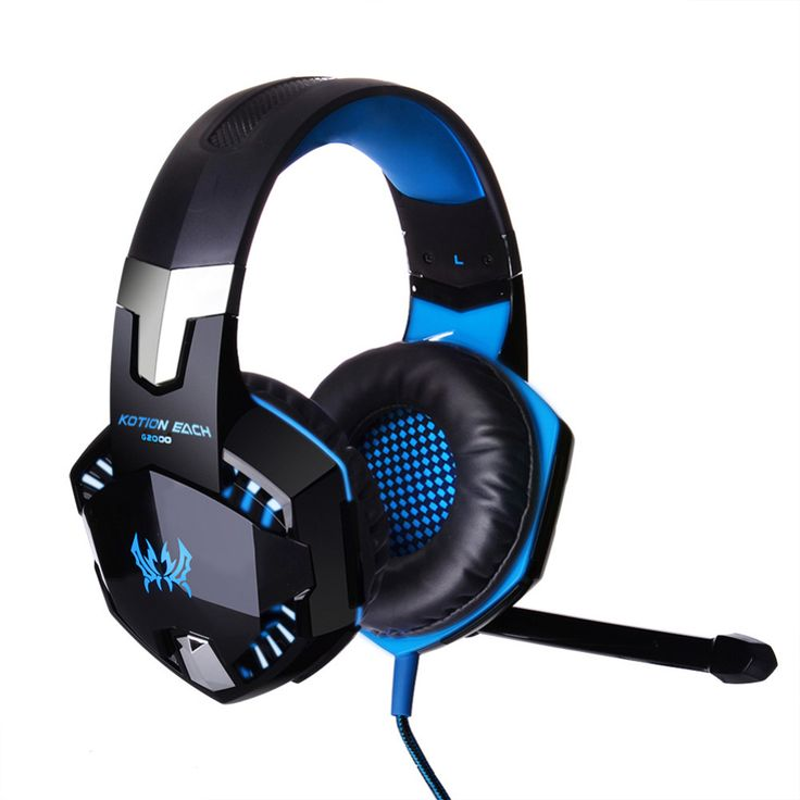 Luxury YCDC EACH G Gaming Headset Stereo Sound m Wired Headphone with Mic Noise Cancelling LED