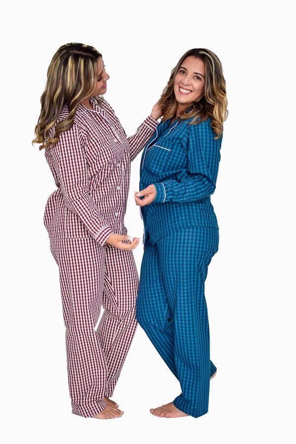 ea9f05cac Pijama de mujer Acolor tipo pantalón fabricada en tejido plano ...