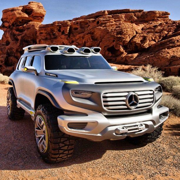 Mercedes Benz Suv Tank