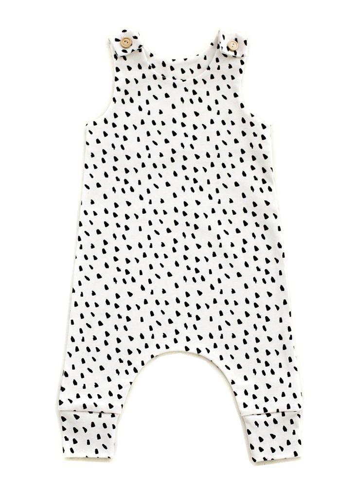 Dalmatian Print Baby Onesie #etsy