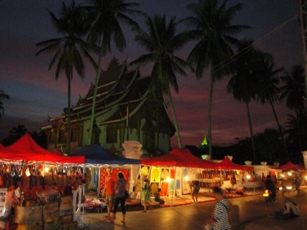 Luang Prabang, Laos--Night Market