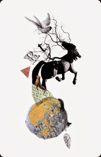 collage by miss talseth illustration