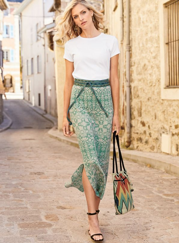 f088fa76e87b Pima Reversible Fez Flower Skirt in 2019 | The Spring 2019 Collection |  Spring skirts, Flower skirt, Skirts
