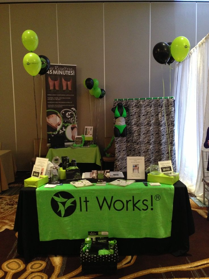 It Works! Global event at a bridal show at the Ritz Carlton in McLean ...