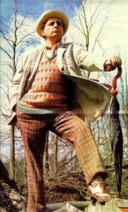 The Seventh Doctor Sylvester McCoy 1987-1989   Such an underrated Doctor. Love him!