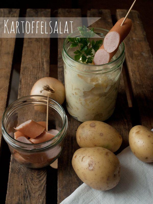 Das Beste Rezept der Welt für Kartoffelsalat mit selbstgemachter Mayonnaise