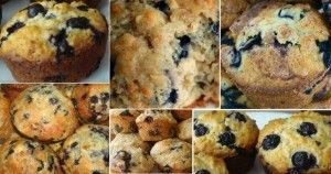 Granny's Oatmeal Blueberry Muffins | BREADS ON THE SWEET SIDE ...