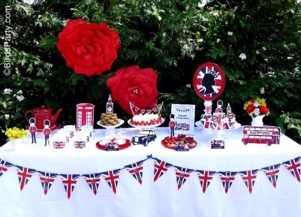 British Themed party | British themed Party | calmyourbeans - bad link, image only