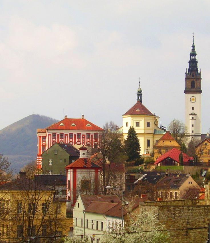 St.Stephen's Cathedral (Czech: Katedrála sv. Štěpána) in Litoměřice (North Bohemia), Czechia. #cathedral #czechia